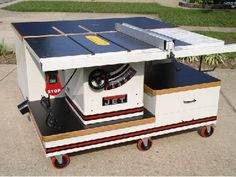 JET Table Saw Stand