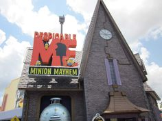 Despicable Me Minion Mayhem, the new attraction at Universal Studios Florida