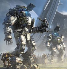 Titanfall 2, great FPS game by Respawn Entertainment.
