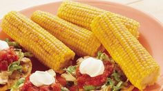 Make a giant flavor leap! Brush corn on the cob with taco-spiked butter.