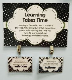 The Brown-Bag Teacher: Monday Made It – The Bathroom Pass