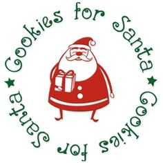 Silhouette Design Store - View Design #15063: cookies for santa