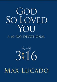 e-Book Devotional: God So Loved You {by Max Lucado} ~ 99 cents! #ebooks #thefrugalgirls