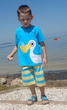 Pelican Boys Custom Applique Tshirt. $23.00, via Etsy.