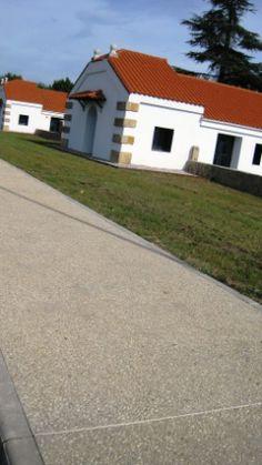 Pavimento de hormigón desactivado con ankare disab