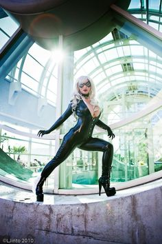 Black Cat Cosplay by Yaya Han