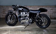Not an everyday ride but... Triumph Bonneville T100 Cafe Racer. By ChrisMoore Triumph Motorcycles, Triumph Cafe Racer, British Motorcycles, Cafe Racer Bikes, Cafe Bike, Cafe Racer Motorcycle, Cool Motorcycles, Vintage Motorcycles, Motorcycle Helmets