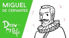 MIGUEL DE CERVANTES - History Draw | con El Coleccionista de Mundos
