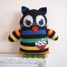 Make Your Own Sock Owl $19.99