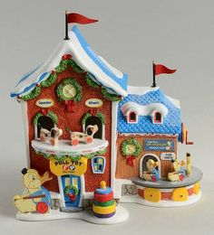 Department North Pole Village - Page 11 Fisher Price Toys, Vintage Fisher Price, Saturday Morning Cartoons 90s, Retro Housewife, 80 Cartoons, Retro Advertising, 90s Childhood, Pull Toy, Hallmark Christmas