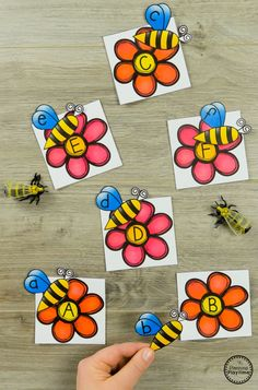 Looking for awesome Bug Activities for preschool? This awesome set is a mix of cute preschool bug crafts and educational activities for your math and literacy centers. Subitizing Activities, Preschool Science Activities, Spring Activities, Alphabet Activities, Educational Activities, Learning Activities, Teaching Resources, Preschool Name Crafts, Bug Crafts