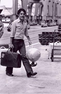 Chico Buarque em Roma, década de 70