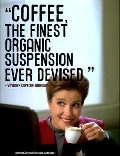 Janeway & Coffee (I adore Janeway!)