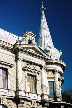 Details of late XIX century building in Bielsko-Biala, Poland  (Image from http://jerzypawleta.pl/wp-content/uploads/2012/08/201010-47-Polska.-Bielsko-Bia%C5%82a.-Zabytkowe-kamienice.jpg)