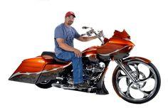 Doug Fifer & His 2015 Harley-Davidson Street Glide