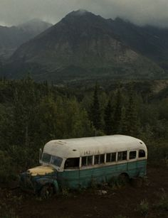 "Christopher McCandless' ""Magic Bus""."