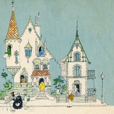 Image taken from my old edition of Barbapapa's New House