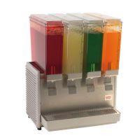 $1475 Classic Bubbler™ 4 Bowl Plastic Cold Beverage Dispenser, Each