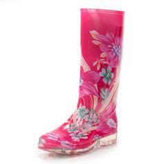 Printed Rain Boot