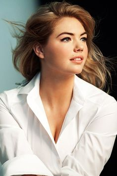 kate upton is an icon for women to love their bodies the way they are - we don't have to have 0% body fat to be beautiful | Kate Upton For Bobbi Brown