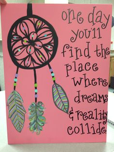 New Diy Dream Catcher Drawing Quotes Ideas Dream Catcher Canvas, Dream Catcher Drawing, Dream Catcher Quotes, Cute Canvas, Diy Canvas, Canvas Art, Canvas Paintings, Canvas Ideas, Drawing Quotes