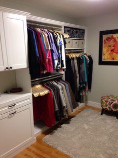 Walk In With Hamper ClosetsbyDesign Boston Carolyn Scarinci Senior Designer