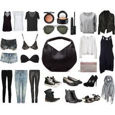 Basic Wardrobe by nanabech on Polyvore