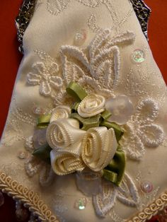 Vintage Evening Bag Beaded Victorian Style by ShopHavanaBanana, $18.00