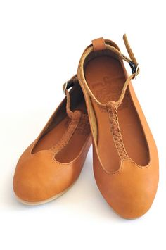 GRACE. Leather ballet flats. Womens flat shoes. US 5-14 sizes.