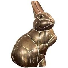 Brass Bunny Rabbit Sculpture Attributed to Sergio Bustamante