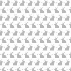 """Bedtime Bunny Soft Cotton Flannel, 43"""" By The Yard"""