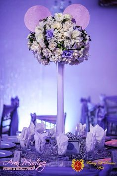 Loved the centerpieces!
