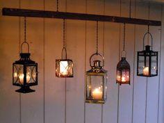 Bargain Bound: Candle Lanterns