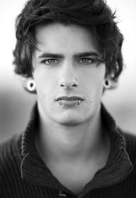 Im usually not into piercings, but damn! If every guy looked like this I'd be game