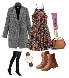 """""""Untitled #5"""" by luludedid on Polyvore featuring Abercrombie & Fitch, Charlotte Russe, Coach, Too Faced Cosmetics and Daniel Wellington"""