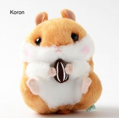 Korohamu Koron no Daikobutsu Plushies (Ball Chain) Kawaii Plush, Cute Plush, Cute Baby Cats, Cute Babies, Cute Stuffed Animals, Cute Animals, Star Wars Room, Cute Hamsters, Mode Shop