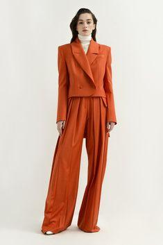 Shop Wool Blazer With Longer Back. Suit Fashion, 90s Fashion, Indian Fashion, High Fashion, Vintage Fashion, Fashion Looks, Fashion Outfits, Fashion Trends, Vogue Fashion