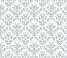 Pineapple Damask large fabric by flyingfish on Spoonflower - custom fabric