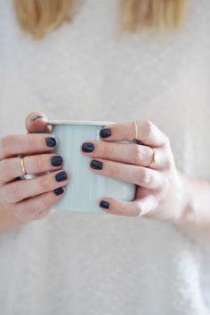 Vanilla Spiced Earl Grey Lattes | lark & linen