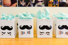 Little Man Birthday Mustache bash - Photo booth ideas - Bow tie Favor ideas Little Man Party, Little Man Birthday, Boy First Birthday, 2nd Birthday Parties, Diy Birthday Banner, Birthday Favors, Birthday Party Decorations, Birthday Ideas, Father's Day Celebration
