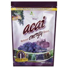 To Go Brands Acai Natural Energy Boost - 30 Soft Chews: HF Reviews - Acai Berry Products