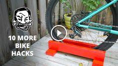 Watch: 10 More Useful Bike Hacks http://www.singletracks.com/blog/mtb-videos/watch-10-more-useful-bike-hacks/