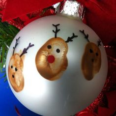 Thumbprint reindeer ornaments  https://sphotos-a.xx.fbcdn.net/hphotos-ash4/229890_536743176351117_908669816_n.jpg
