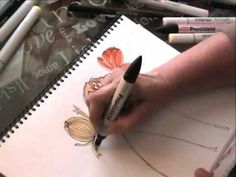 Art Lessons Vol. 4 With Jane Davenport: Watercolor Markers - YouTube