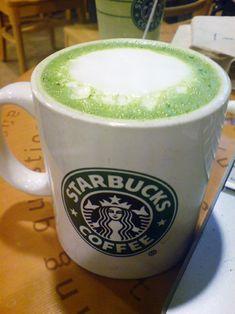 Tazo green tea latte