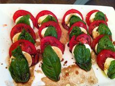 Caprese salad with balsamic!!!