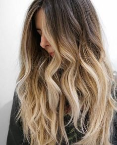 Golden Brown And Blonde Hair