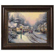Choice of Frame Thomas Kinkade Everett/'s Cottage 16 x 20 Brushstroke Vignette