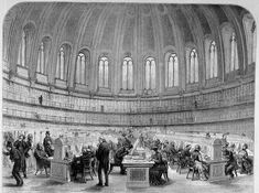 Amazing Architecture // The British Museum Reading Room Amazing Architecture, Art And Architecture, London Sketch, London Museums, Victorian Art, Reading Room, British Museum, Gloss Matte, New Image