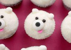 This polar bear. | 30 Animal Cupcakes Too Cute To Eat
